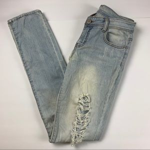 3/$15 ⚠️ Mossimo Distressed Skinny Jeans
